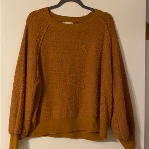 Gold/brown sweater